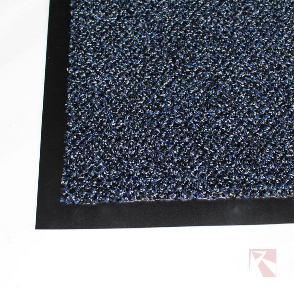 Droogloopmat blauw 130 x 200 cm