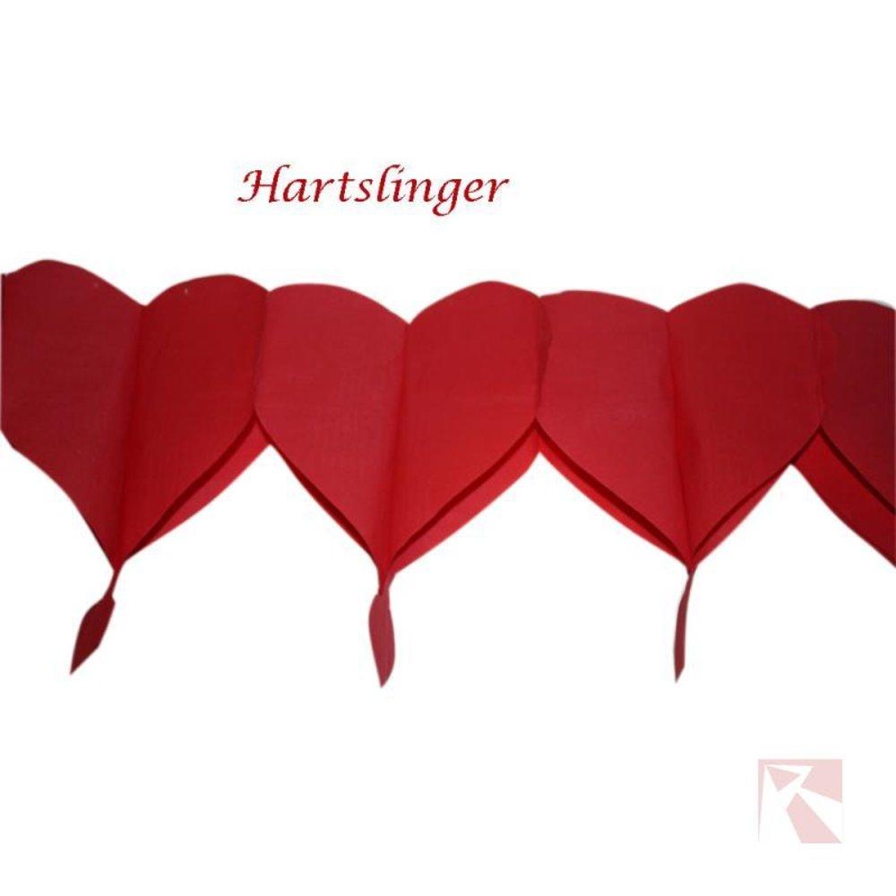 Huwelijksslinger rood hart