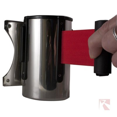 Stopper band rood