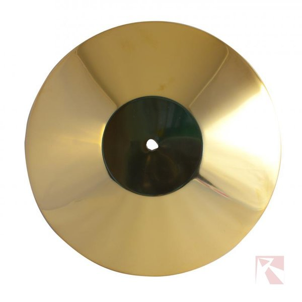 Afzetpaal deksel goud