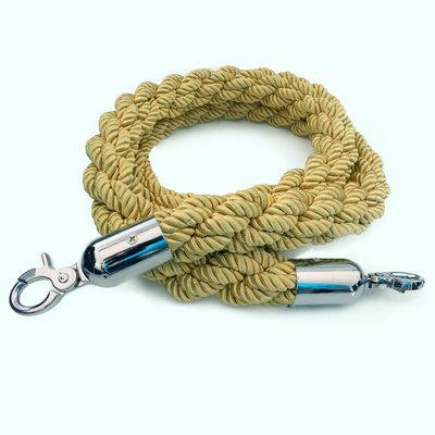Natuurtouw Jute touw of gedraaid koord als afbakening