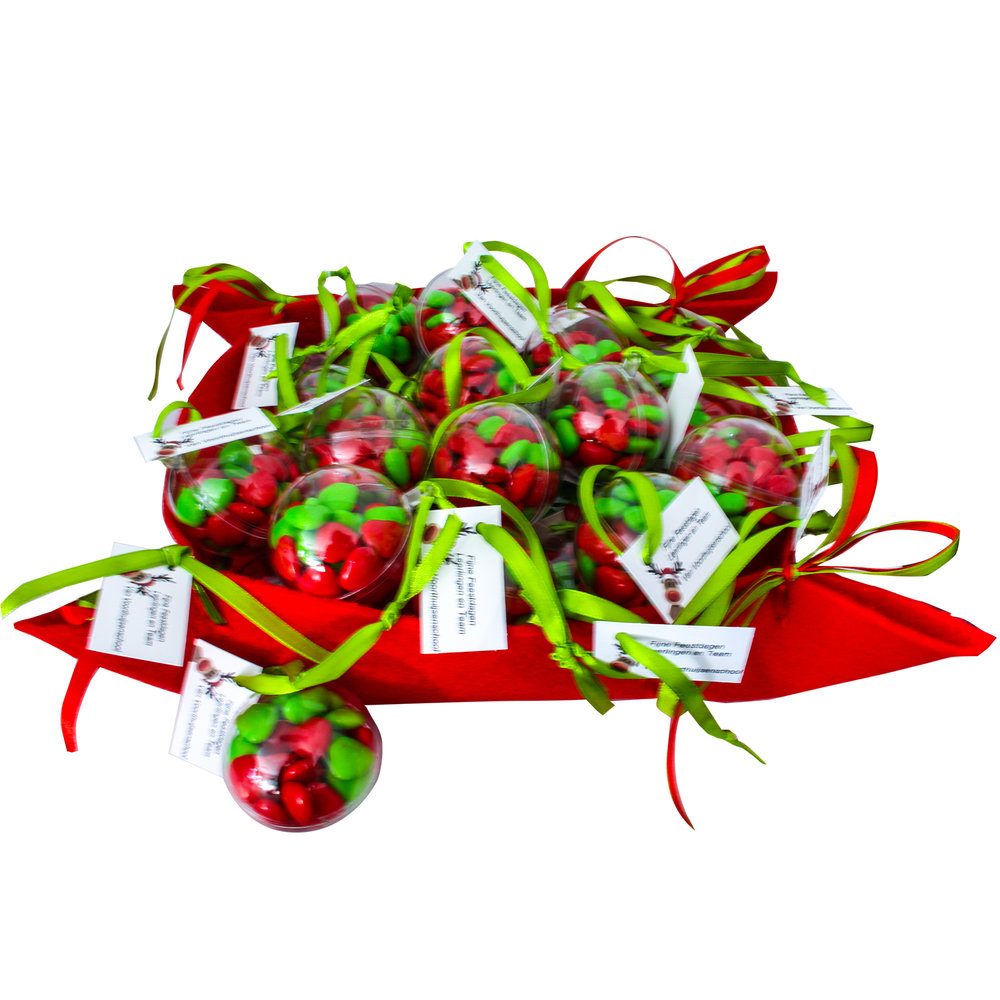 Kerstbal cadeautje