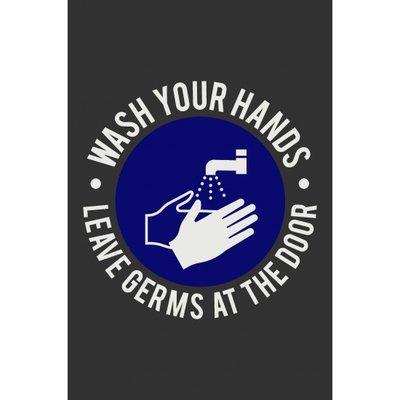 Deurmat, was je handen