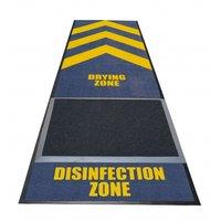 Deurmat desinfectie zone kleine afbeelding