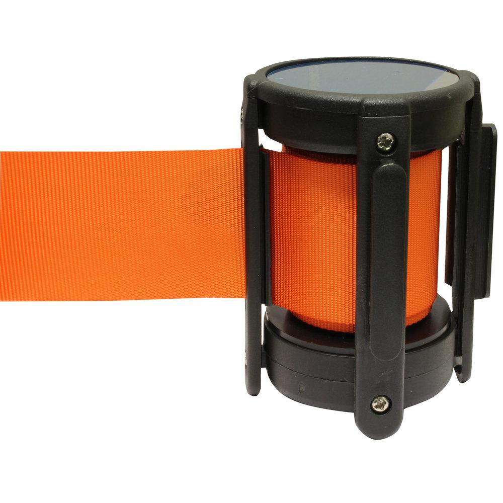 Cassette oranje afzetpaal