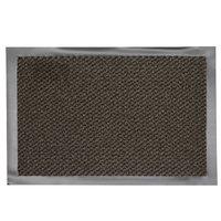 Droogloopmat bruin 60 x 80 cm bovenaanzicht