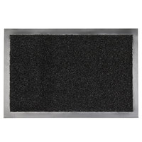 Deurmat zwart 90 x 150 verona kleine afbeelding