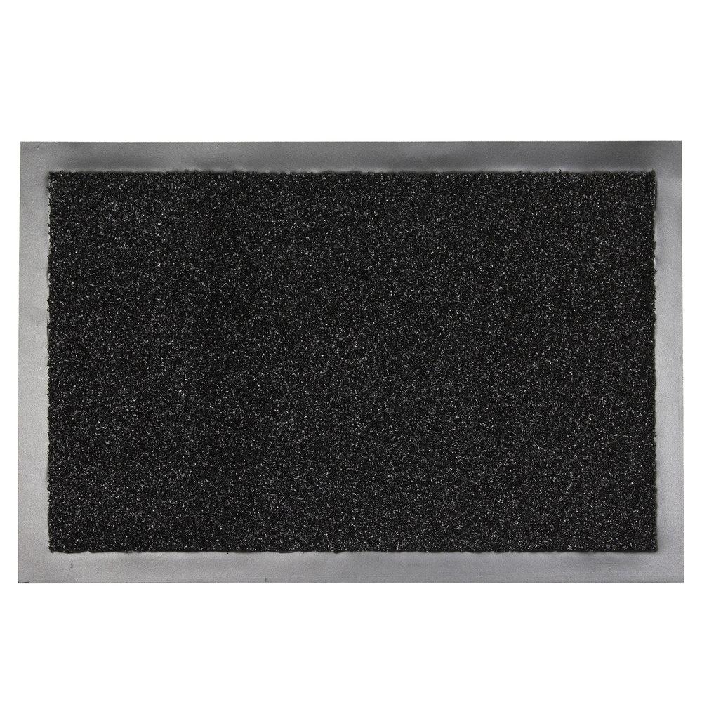Deurmat zwart 90 x 150 verona