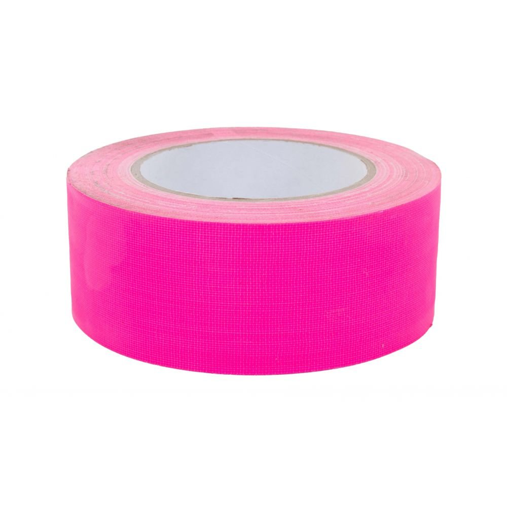 Fluor fuchsia roze duct tape