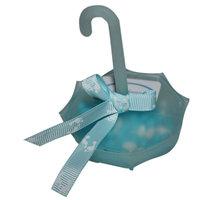 Parasol blauw baby kleine afbeelding