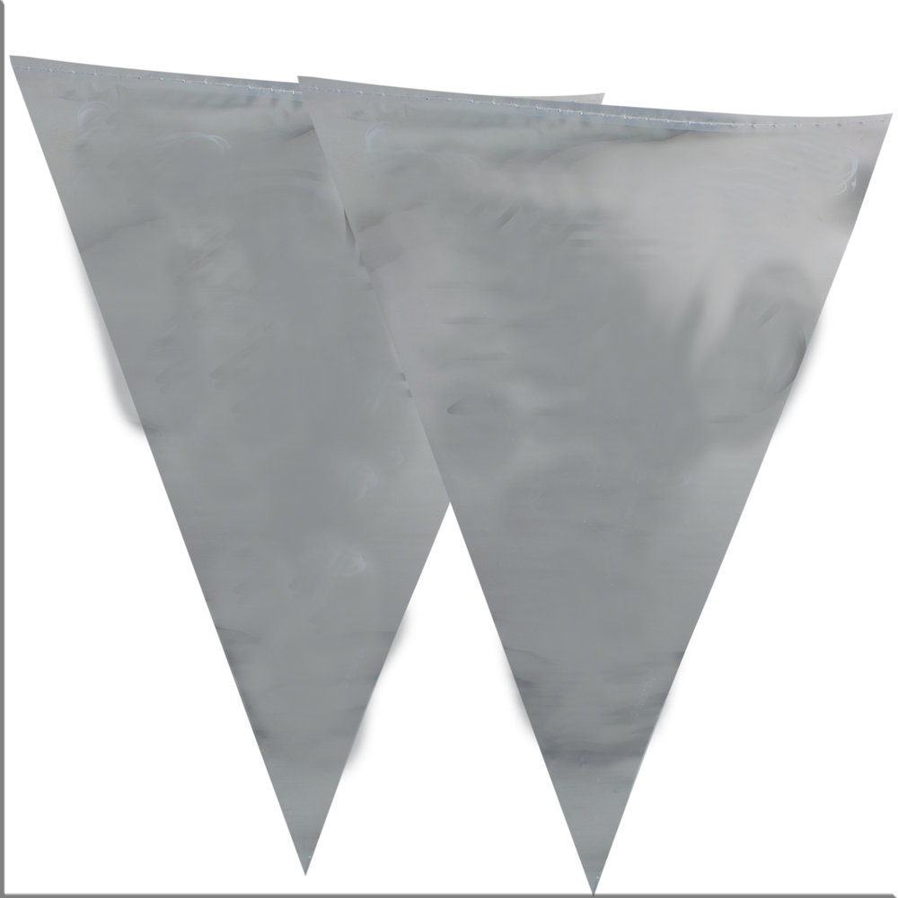 Vlaggelijn zilver