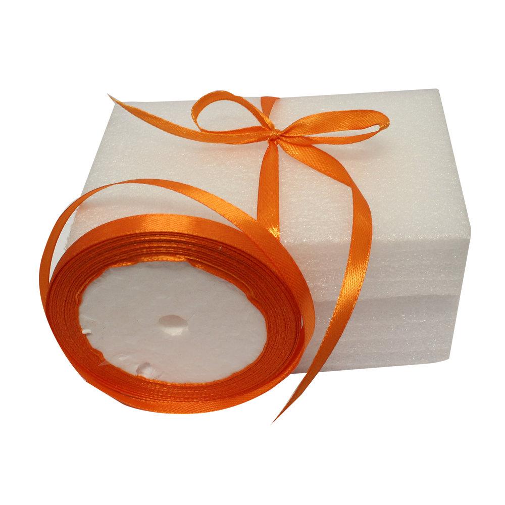 Cadeaulint oranje smal