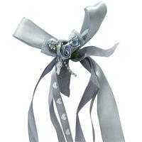Trouwautoversiering bruiloft met linten