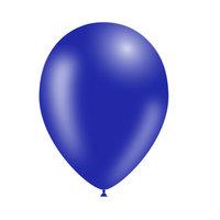 Donkerblauwe ballonnen 30cm blueflower