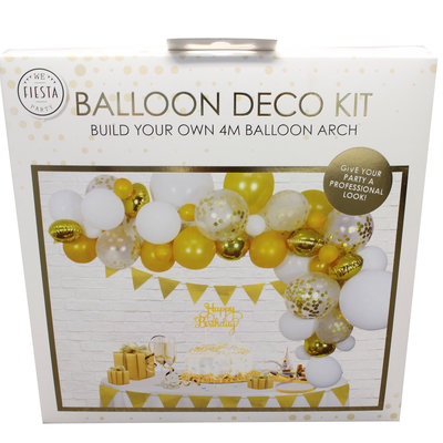 Ballon deco kit goud