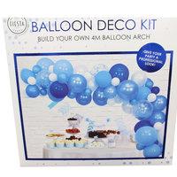 Ballon deco blauw kleine afbeelding