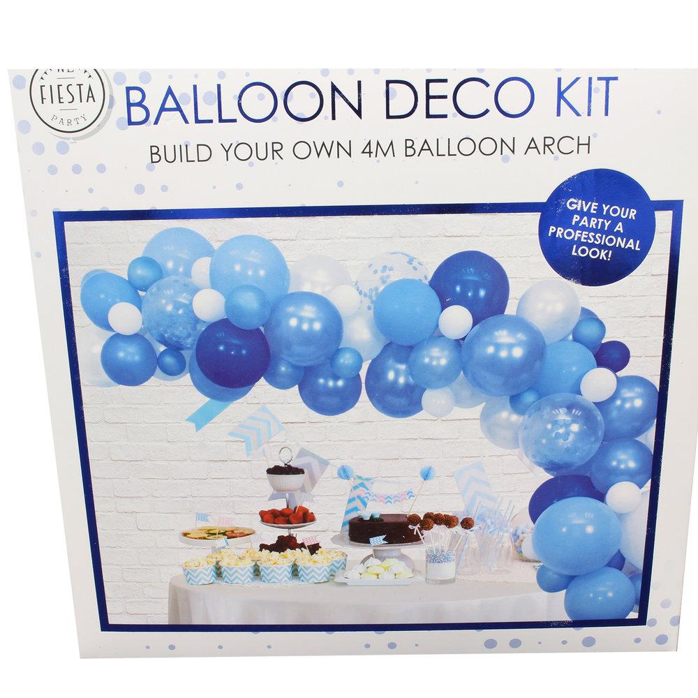 Ballon deco blauw