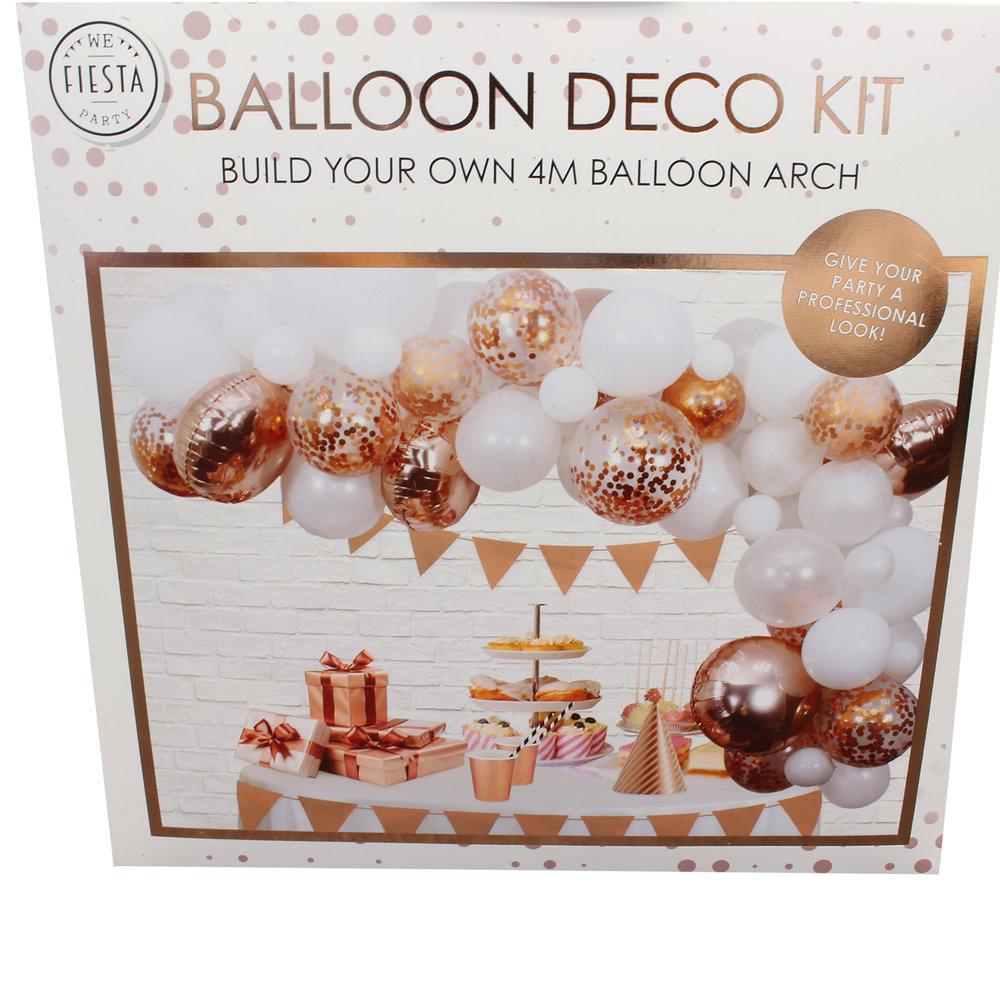 Ballon deco zalm