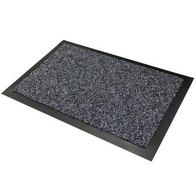 Droogloopmat antraciet - 90 x 150 cm - Cleantime