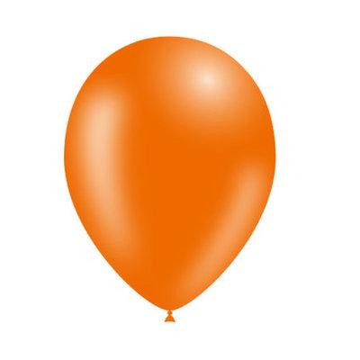 Oranje ballonnen - 25 stuks