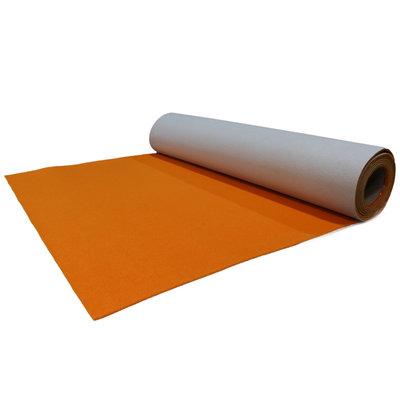 Oranje luxe loper actie 2 meter lengte