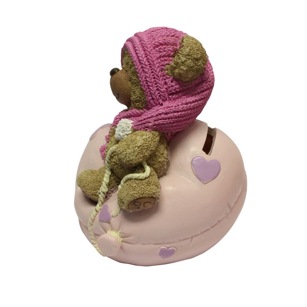 Babycadeau spaarpot roze