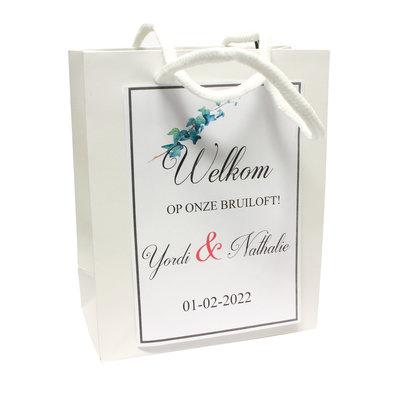 Goodiebags voor bruiloftsgasten