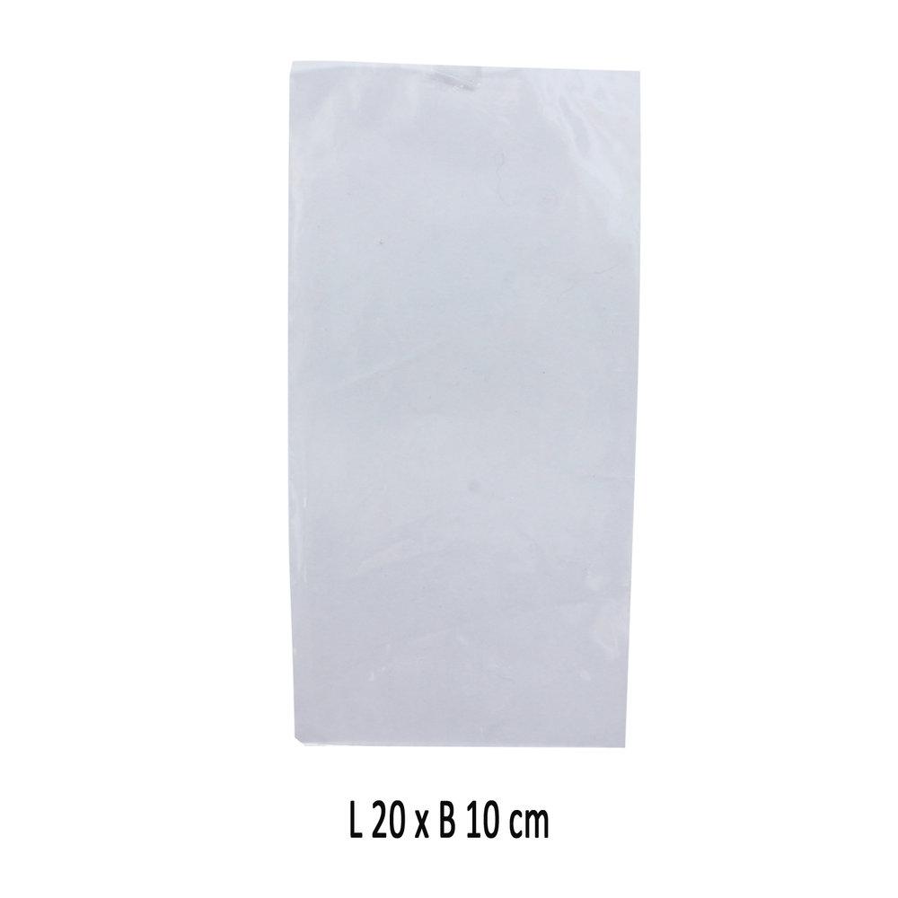 Cellofaan zakje 20 x 10 cm