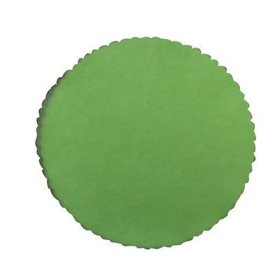 Ronde tule groen -23 cm